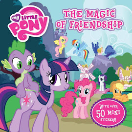 MLP The Magic Of Friendship Book Media