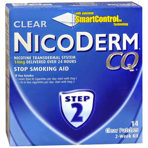 Quit smoking with Nicoderm CQ - Day 43