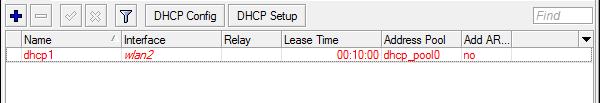 Hasil DHCP Server