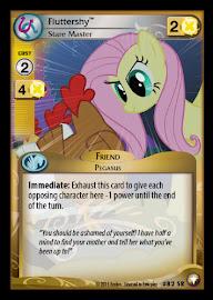 My Little Pony Fluttershy, Stare Master Equestrian Odysseys CCG Card