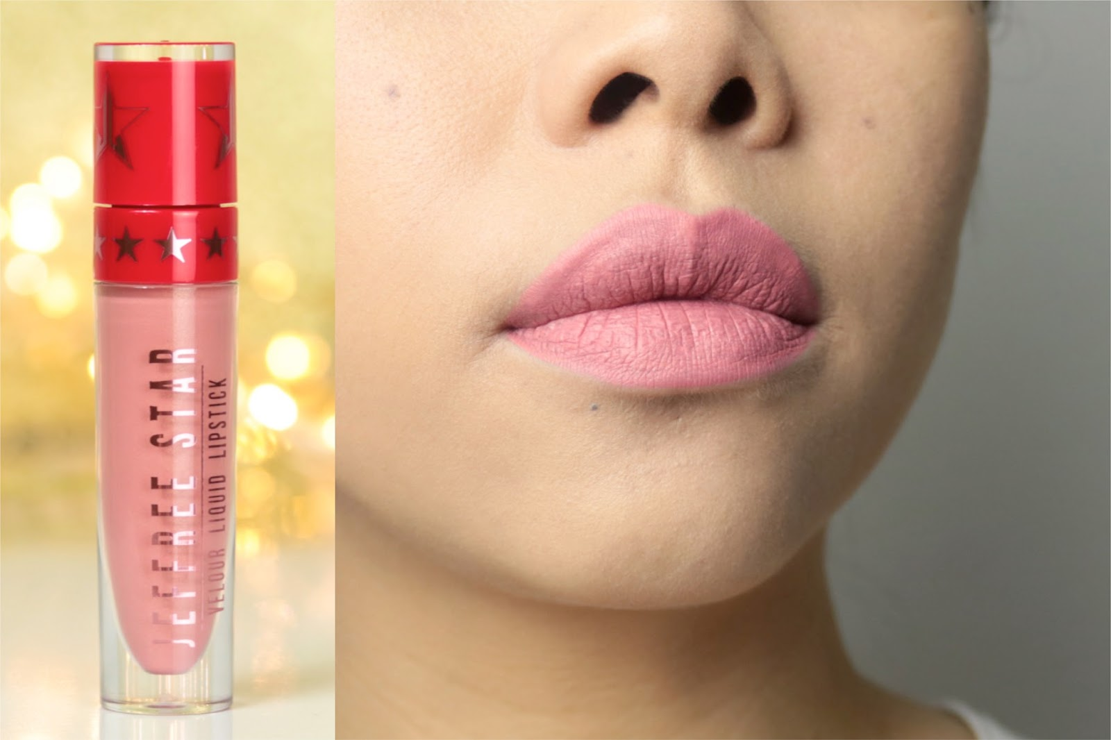 Jeffree Star Velour Liquid Lipsticks | La collection de Noël avis et swatch Chrysanthemum