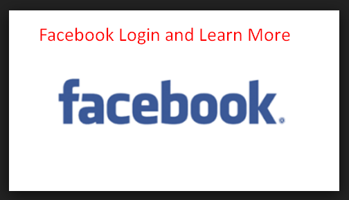 Facebook Login and Learn More
