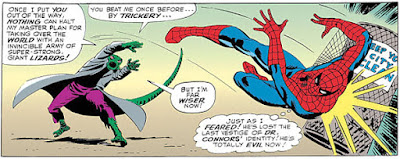 Amazing Spider-Man #44, John Romita, The Lizard flings Spider-Man away from him, fight