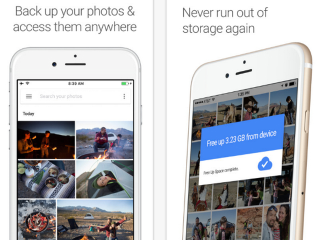 Copy Photos from iPhone to Android Phone with Google Photos App