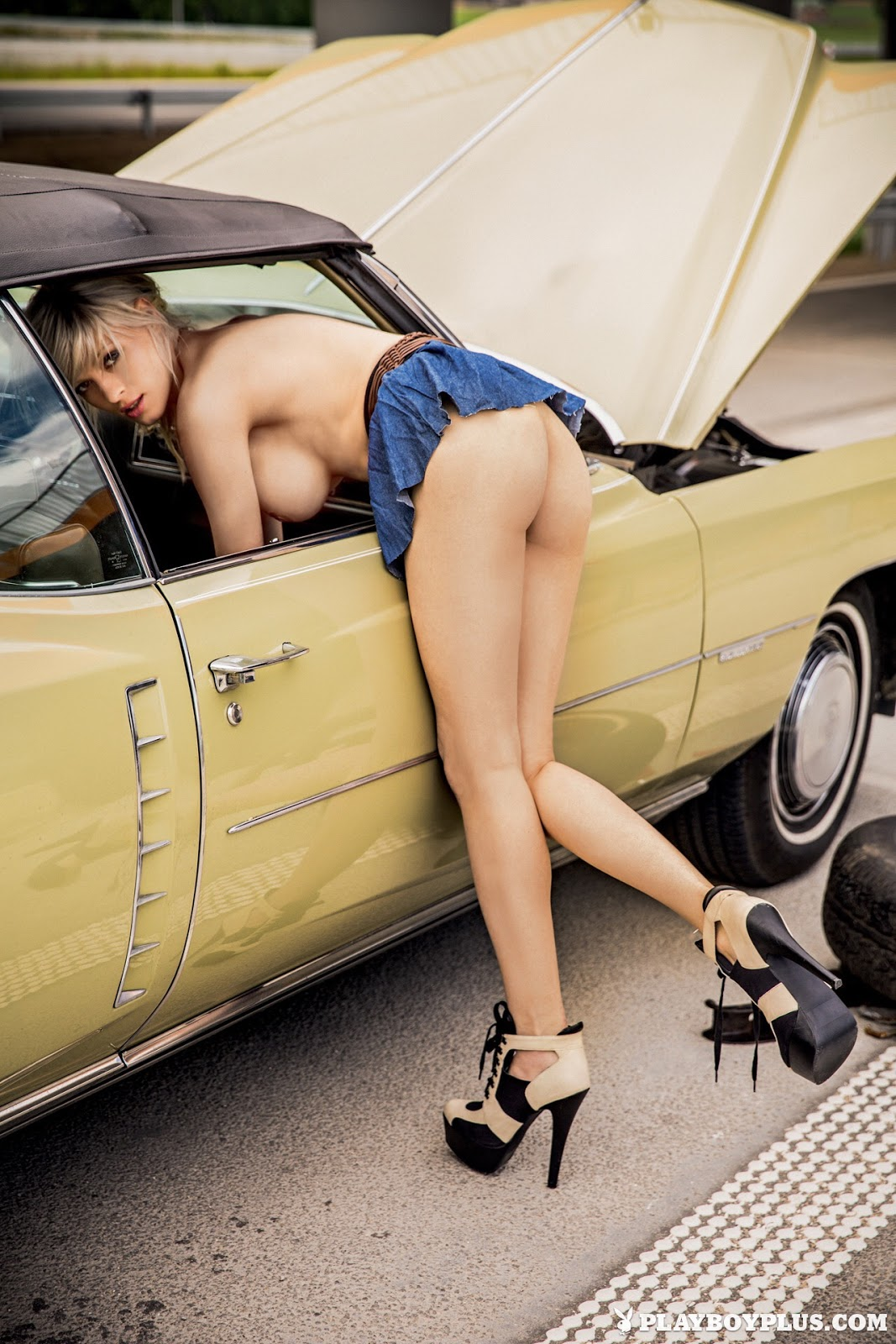 Nudes In Cars 20
