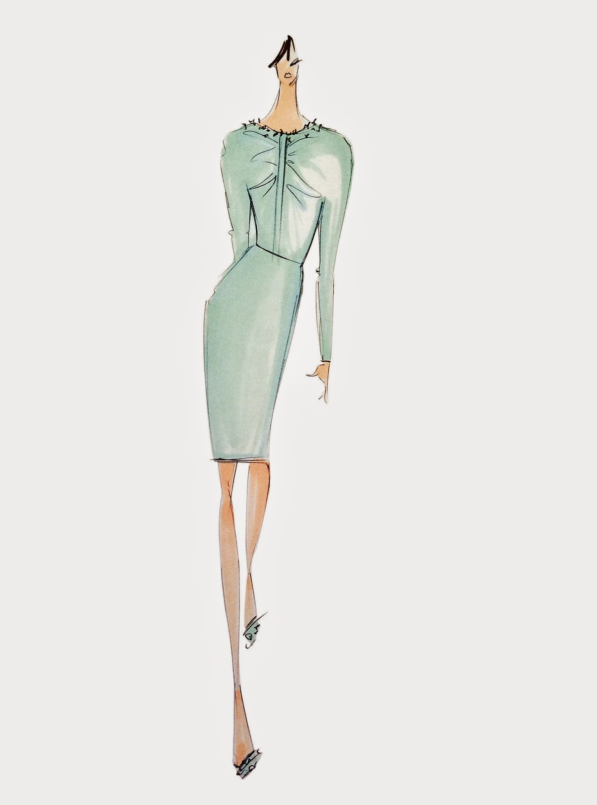 Pantone Fashion Color Lucite Green - Spring 2015