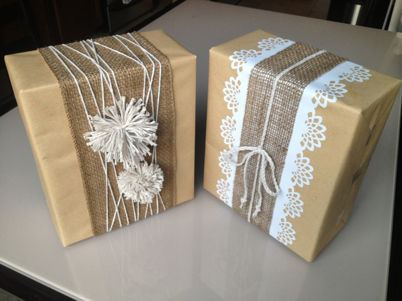 Ideas For Wrapping Wedding Gifts: Bridal Shower Gift: Wine Glasses And A Wine Basket