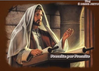 """Imagem do Apóstolo Mateus, iniciando os Estudos+ """"Preceito por Preceito"""", Especial: """"EVANGELHOS"""""""