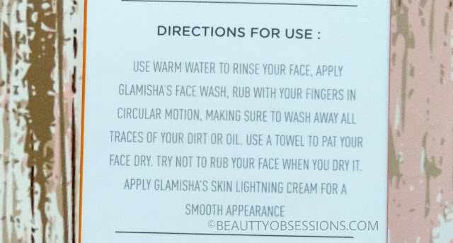 Glamisha Face wash with Mulberry and Licorice Extracts - Review