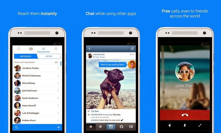 Tải Facebook Mobile không còn lo bị chặn, thoải mái chat Facebook nhé
