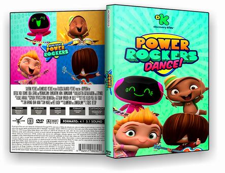 CAPA DVD – Mini Beat Power Rokers Dance – ISO