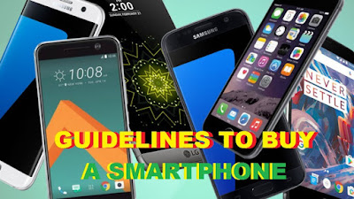 See Guidelines to Consider Before Buying a Smartphone