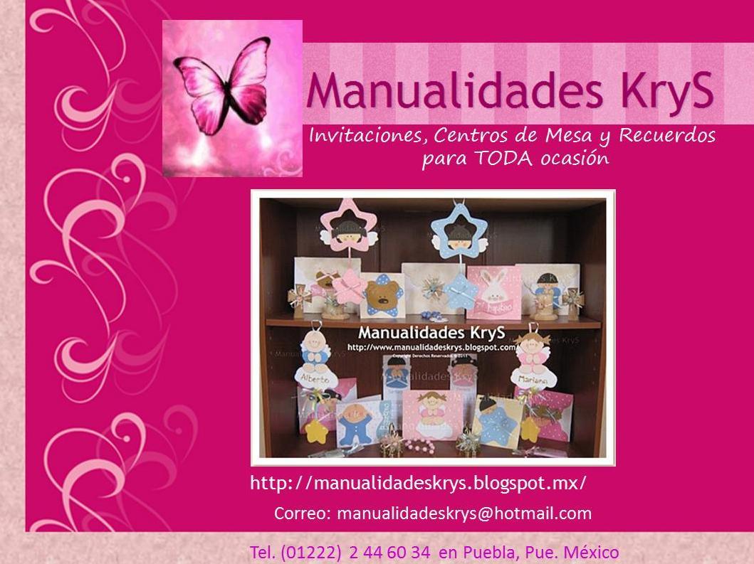 16a9579c6 Manualidades KryS  InViTaCioNeS