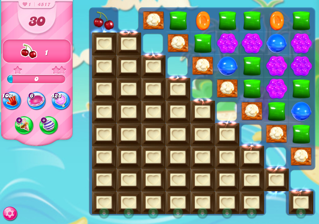 Candy Crush Saga level 4517