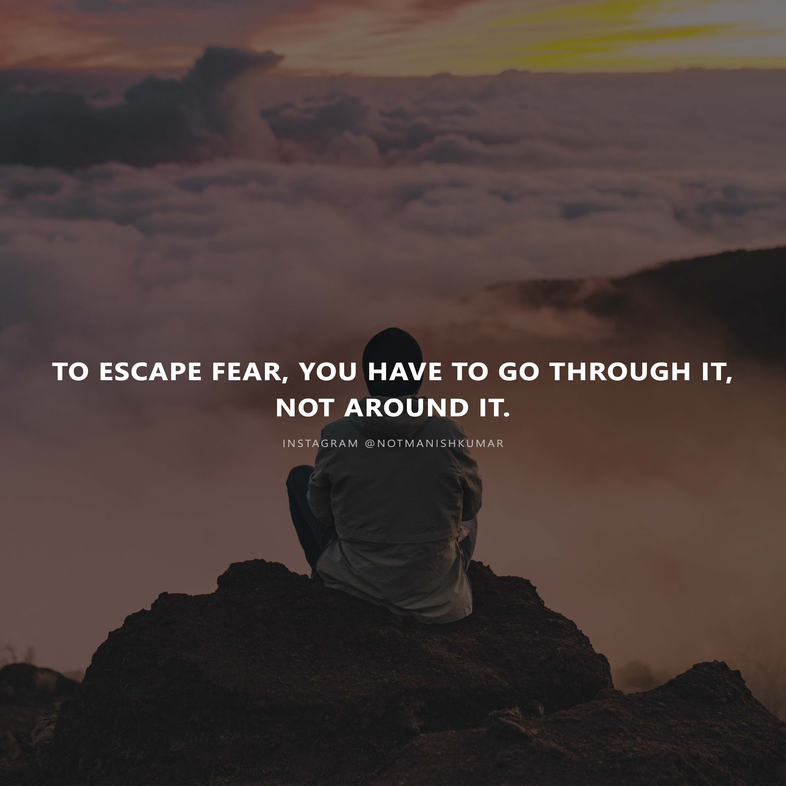 escaping-fear-quote