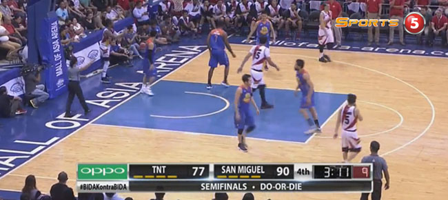 San Miguel def. TNT, 96-83 (REPLAY VIDEO) Semis Game 7 / February 20