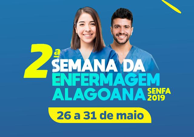 2ª Semana de Enfermagem Alagoana conta com a programação acadêmica e  esportiva