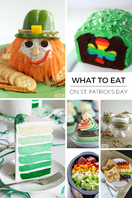 Fun and festive food ideas for St.Patrick's day!