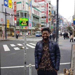 Fan flew Basketmouth to Japan to surprise wife on her 40th birthday 1