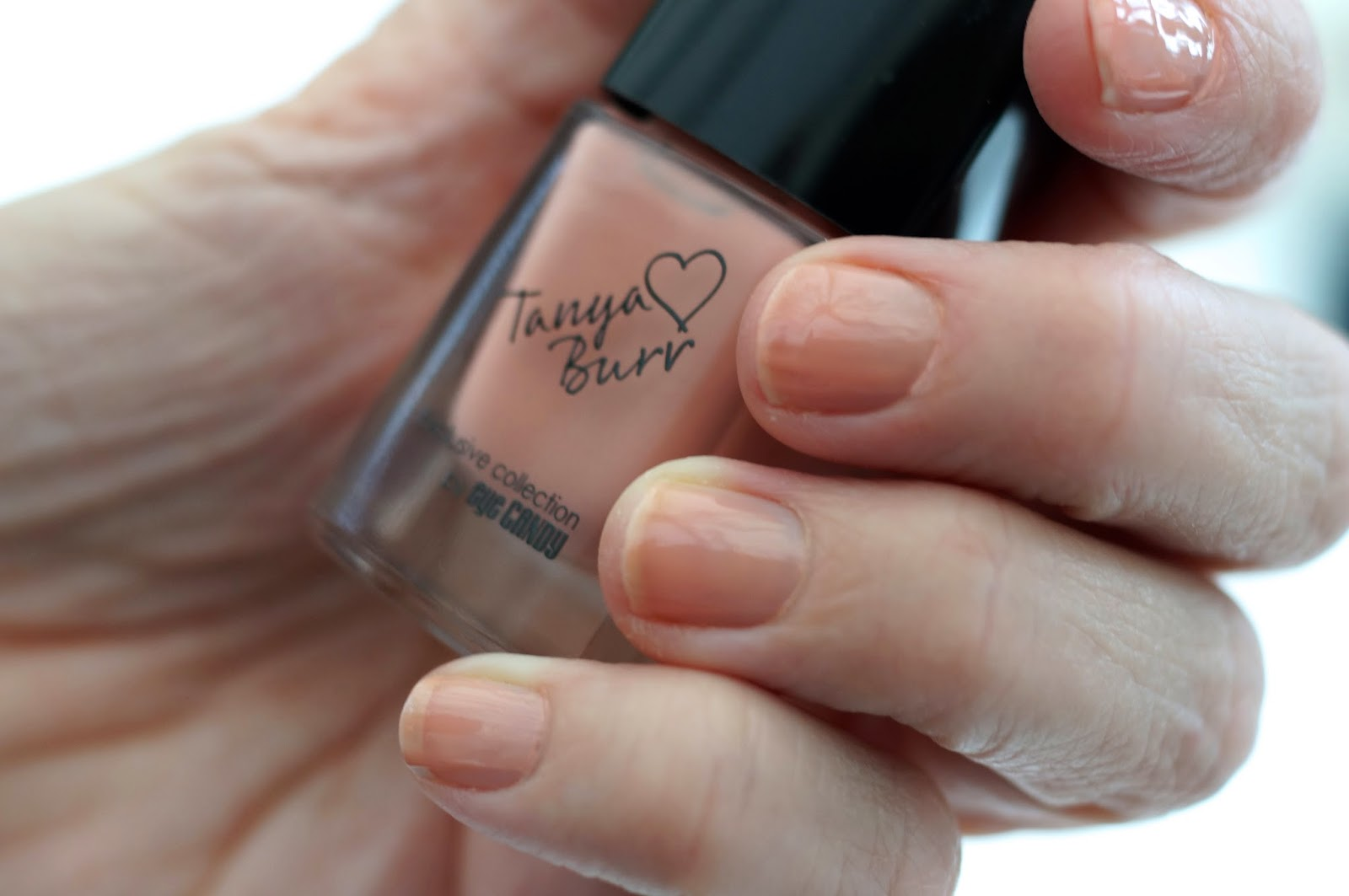 tanya burr nail varnish just peachy