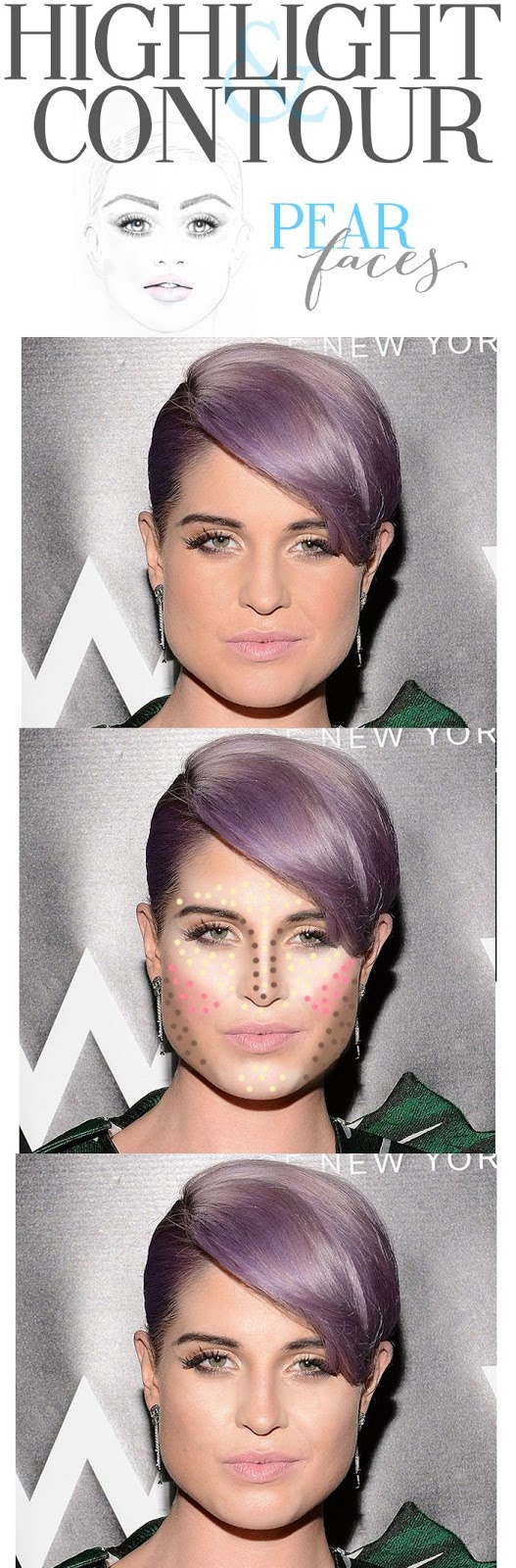pear face shape? you have a ''difficult'' shape! - the
