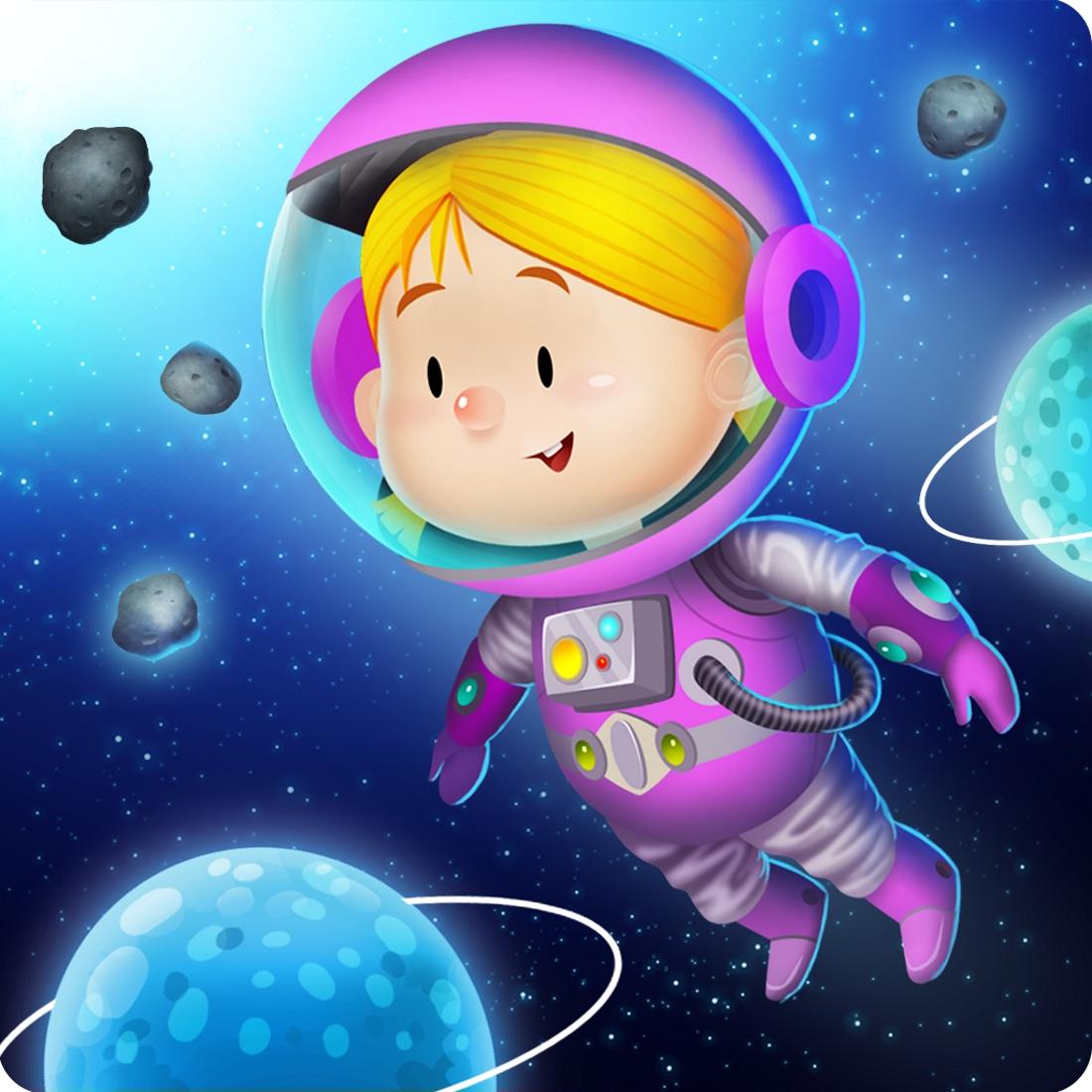 Картинки для детей космос и космонавты, картинки мужа