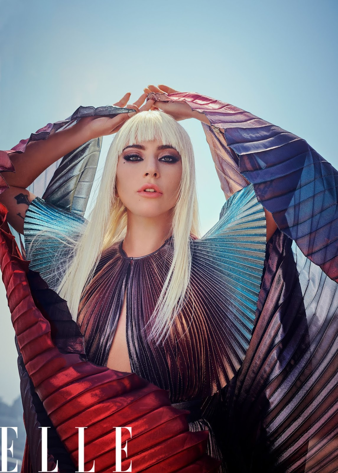 FOTOS HQ: Photoshoot de Lady Gaga para Elle Magazine, por ...