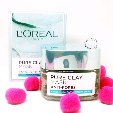 [REVIEW[ L'Oreal Pure Clay Mask Pore Refining