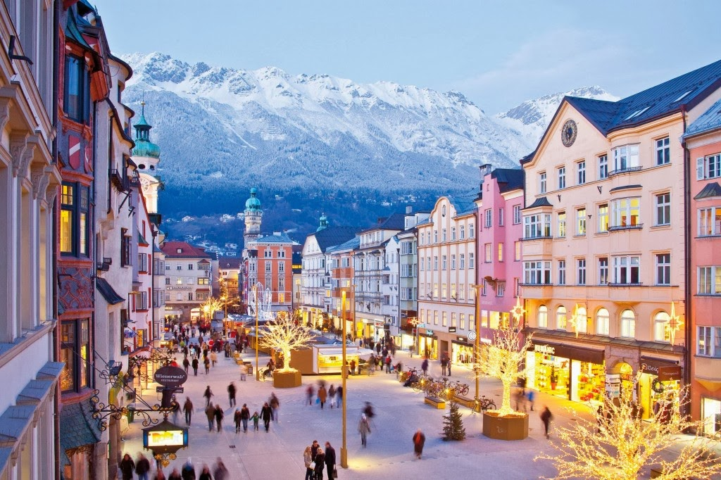 Innsbruck, Austria - Cheapest places to go snowboarding