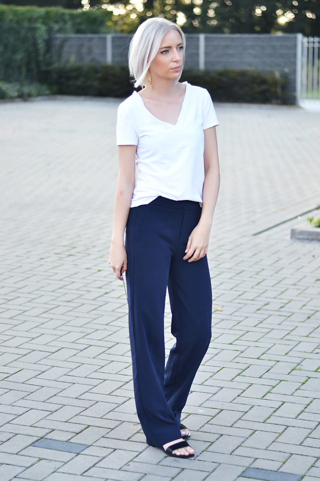 Turn it inside out // Wide leg trousers
