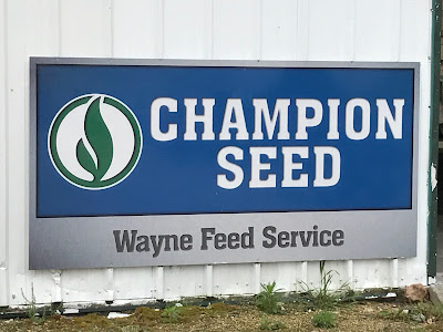 Wayne Feed Services - Champion Seed Sign