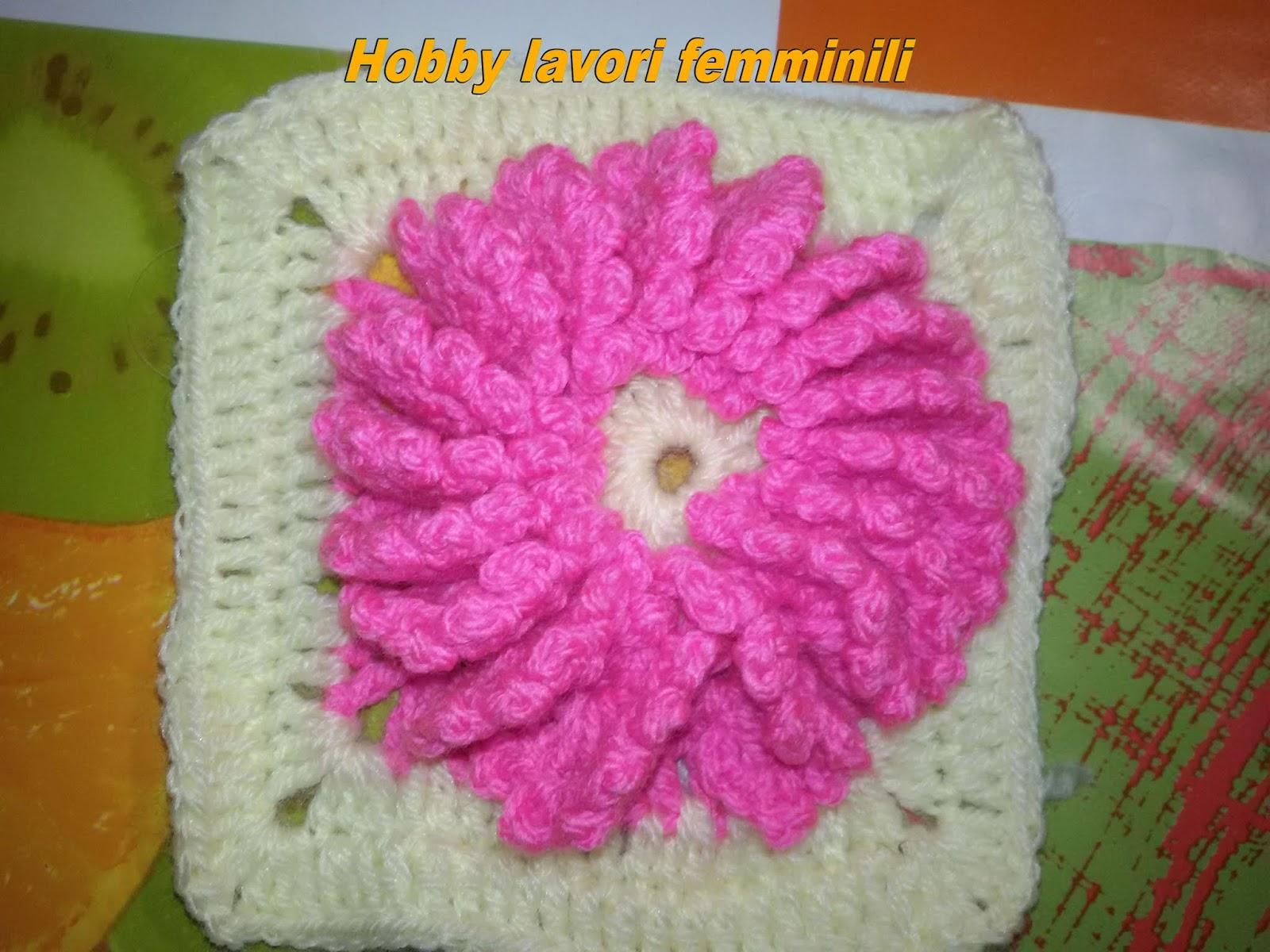 Le fragole di stoffa presina all uncinetto con rosa spiegazione