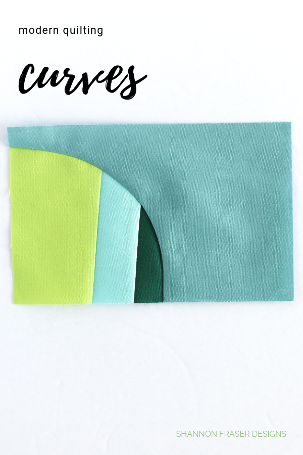 Improv curves quilt | Q2 2019 Finish-A-Long Proposed Projects | Shannon Fraser Designs