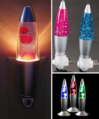 Diseño original de lamparas de noche.
