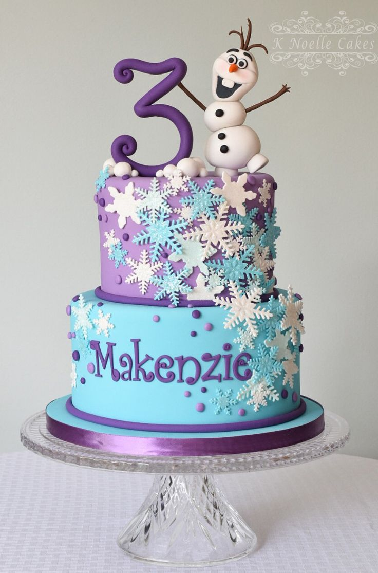 Christmas Birthday Party Cakes
