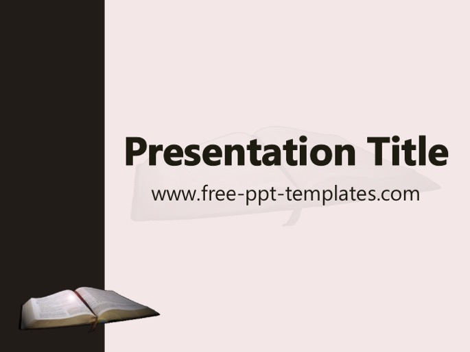Bible Ppt Template