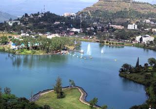Lake+Saputara hill station+boating+Gujarat tourism