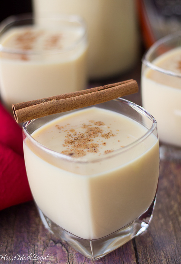 How to make punch ah creme eggnog
