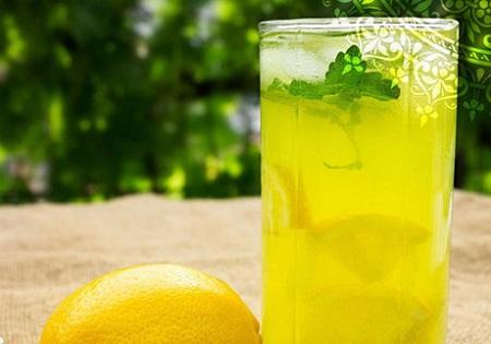ev yapımı naneli limonata