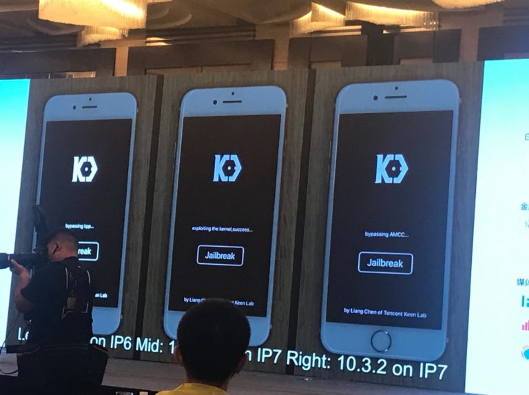 iOS 10.3.2/ iOS 11 Jailbreak Release Date. KeenLab has demoed a jailbreak and installed on both iOS 10.3.2 and iOS 11 beta 2 at MOSEC