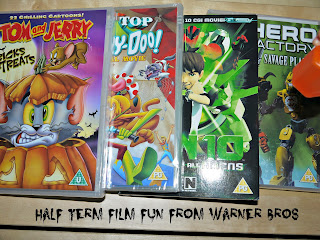 tom and Jerry, Ben 10, Lego, Scooby Doo, DVD