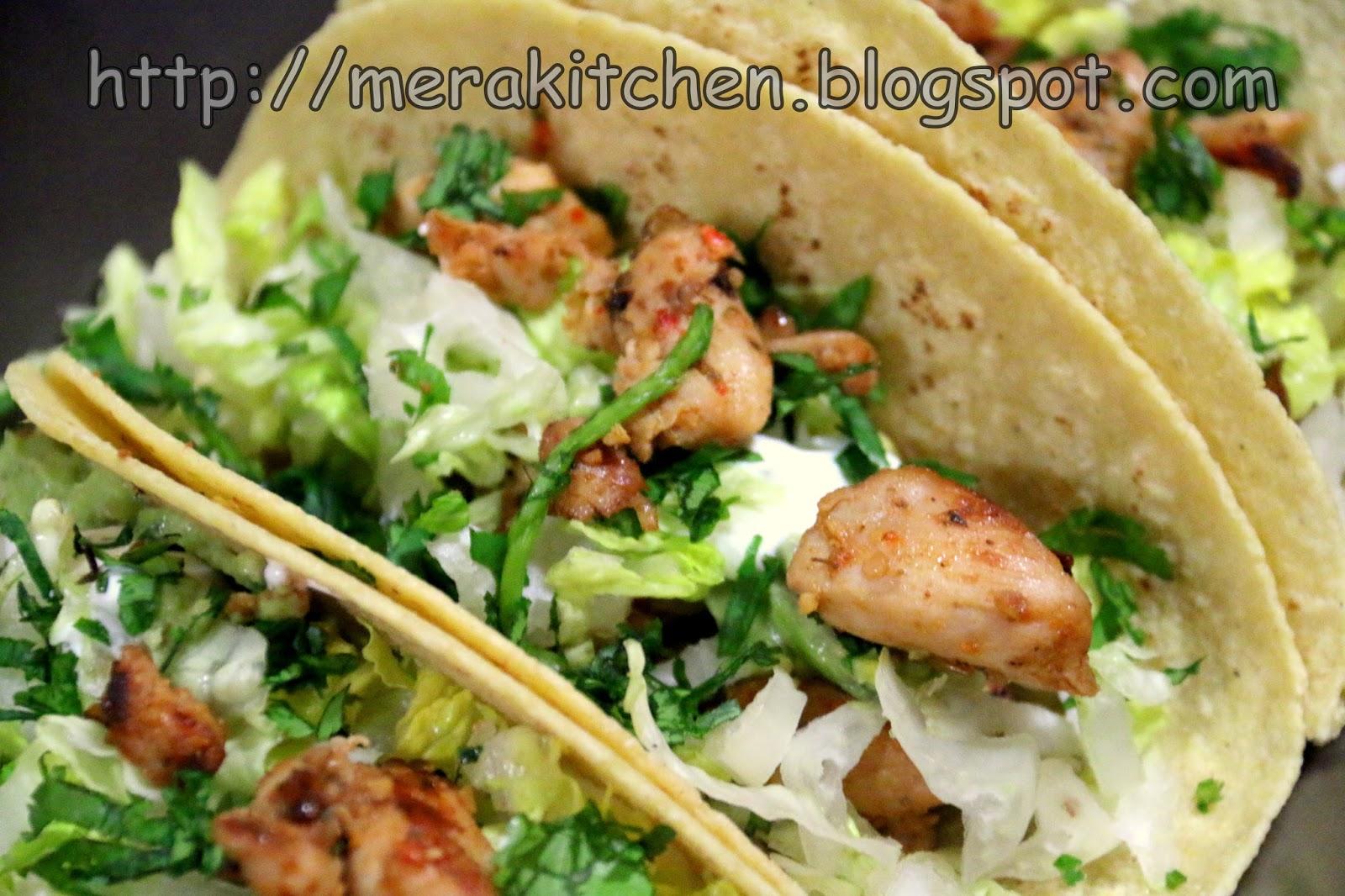 merakitchen: Simple Chicken Taco - #TacoTuesday #1