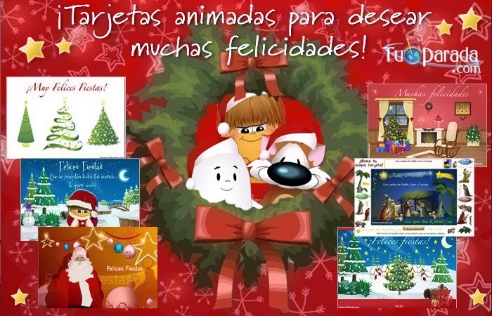 Tarjetas Navideñas Animadas Para Compartir: Tarjeta De Navidad Para Compartir