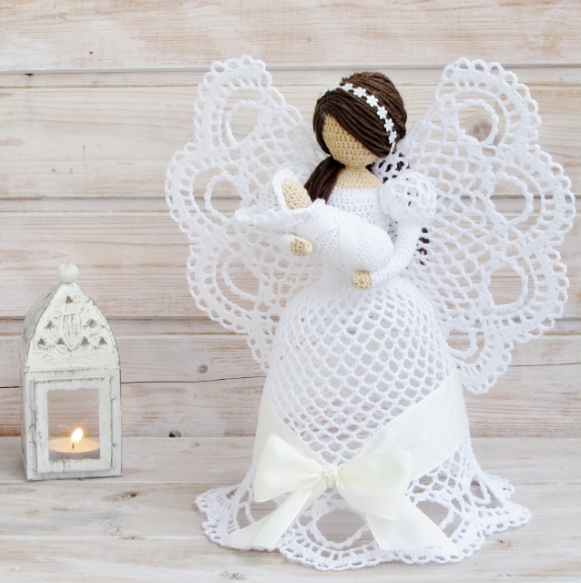 como-tejer-angelitos-crochet