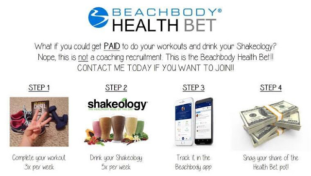 beachbody health bet, health bet, beachbody coach, top coach, challenge group,