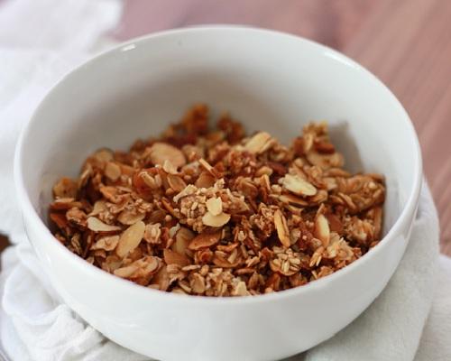 healthy breakfast cereals for weight loss, honey nut breakfast cereal, overnight bircher benner muesli