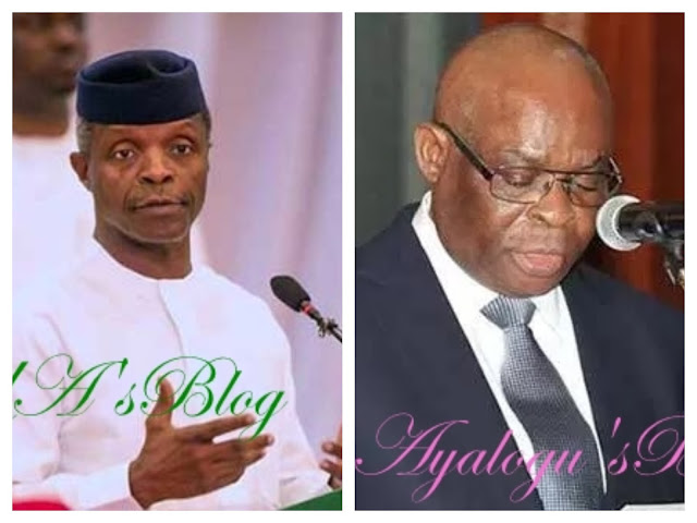 How to save Nigeria's democracy, by Osinbajo, Onnoghen, others