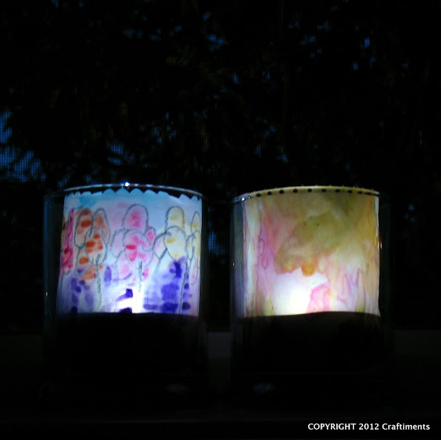 Craftiments.com:  Dollar Store Solar Nightlights