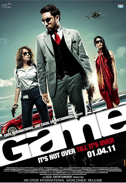 Poster of Game (2011) Full Movie Hindi 720p HDRip ESubs Download