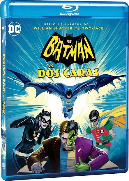Batman vs. Two-Face (Batman Vs. Dos Caras) (2017) 720p y 1080p BDRip mkv Dual Audio AC3 5.1 ch